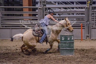 Girls Barrel Racing Competition