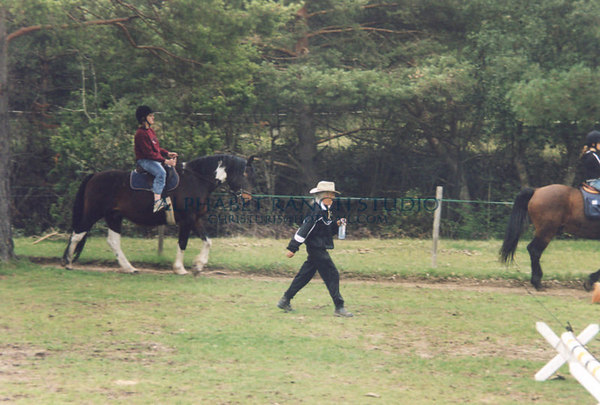 Pony Club lesson, taken by Susan Garvin.  This was just outside Mons.