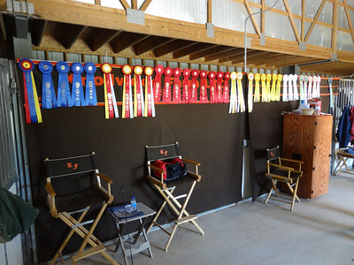 Awards received during the show