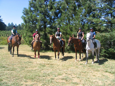 Inavale Eventing Camp With Marvin