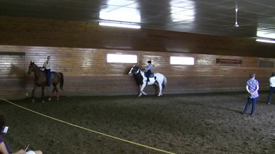 17 and Under Bareback Equitation Class.