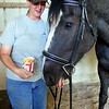 Leeandra sharing some fries with Cinder.