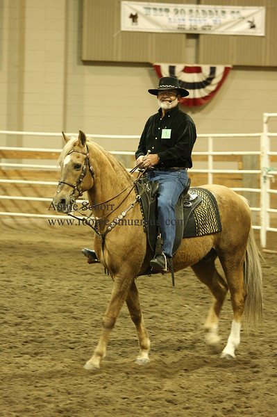 """Al Ragusin - He is riding a 22 year old Quarter Horse. This horse was purchased from a rodeo.<br /> <br /> See:<br />  <a href=""""http://www.downunderweb.com/"""">http://www.downunderweb.com/</a><br />  <a href=""""http://www.dancinghorseshow.com/"""">http://www.dancinghorseshow.com/</a>"""