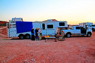 Becky Walker's chuck wagon.