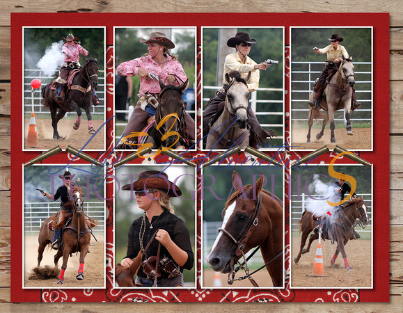 2011 Broken Spoke Cowboy Mounted Shooting - Page 014