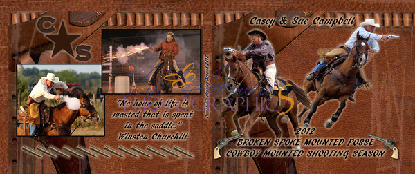 Campbell Horsin Around Book 2012 cover - Page 001