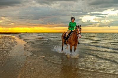 MargateBeach-Horses-splash-38