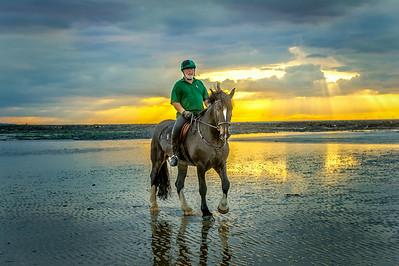MargateBeach-Horses-splash-29