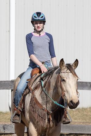 TK Jr Equestrian Team Practice