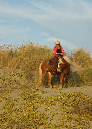 Cowgirl | Morro Bay Beach, CA