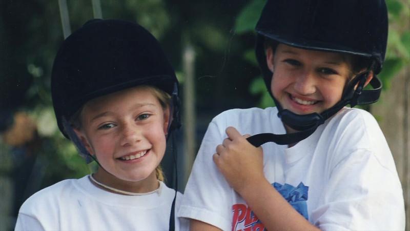 Riding Camp 1998 Casey & Jamie