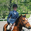 May 4, 2002. Casey and Mr. Handsome at Classic Oaks Horse Show, Radnor Hunt Show Grounds.