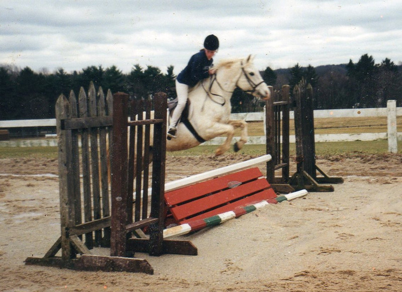 Casey and Diamond. She was a good jumper!