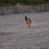 Nikki running on the beach in Sea Isle during the summer of 06'