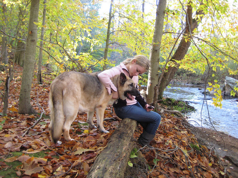 """10-08' Ridley Creek State Park with Nikki.  <a href=""""http://caseyfeldman.smugmug.com/College-Years-Non-NYC/Fall-08-Ridley-Creek-State/9295642_cf2hA#656396716_y8n3S"""">Click here</a> to see more beautiful pictures from this afternoon in Ridley Creek State Park in October, 2008."""
