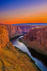 """""""Forgotten Canyon,"""" Glen Canyon Sunset, Page, Arizona"""