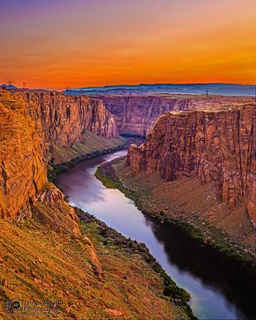 """All That Remains,"" Glen Canyon Sunset, Page, Arizona"