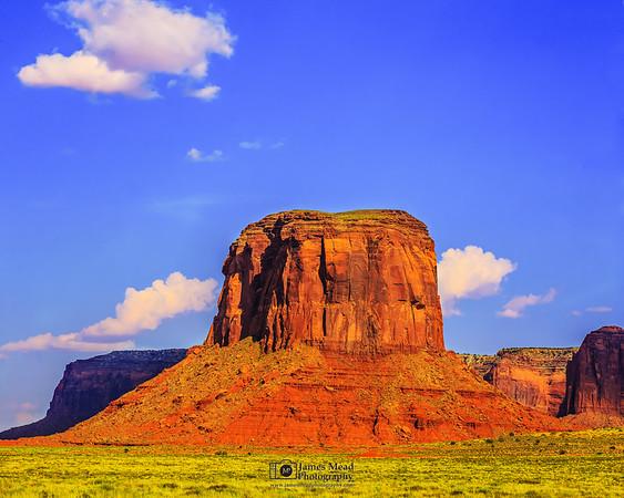 """Desert Tabletop,"" Monument Valley, Arizona"