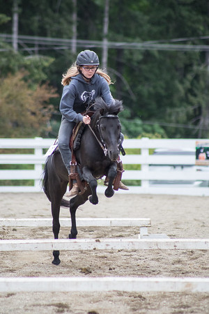 Vimy Horse Show June 2018 - Scurry