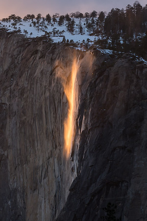 Horsetail Fall - February 28, 2017