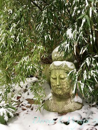 Quan Yin in the snow_2380