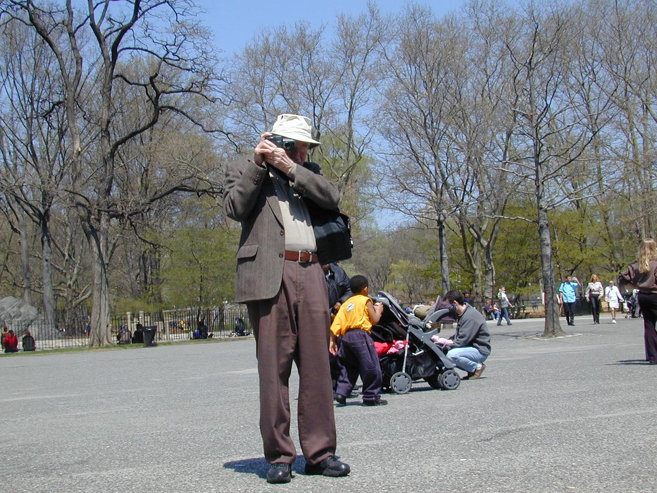 Central Park, NYC. April 2000.
