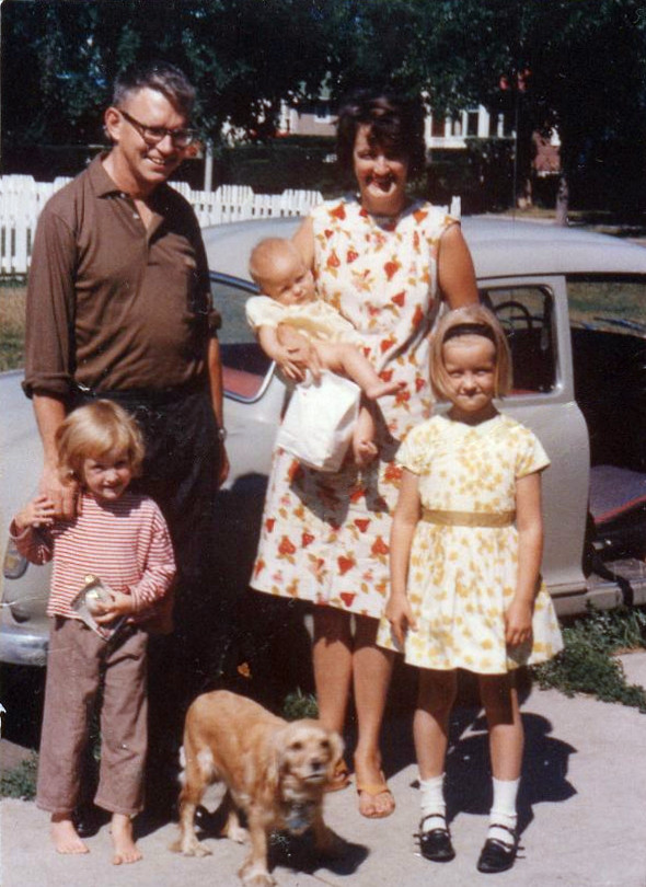 Summer 1963. Edmonton, Alberta, Canada.