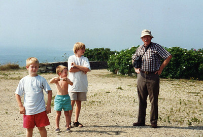 Mid 1990s. A lovely ocean view, maybe in Maine.