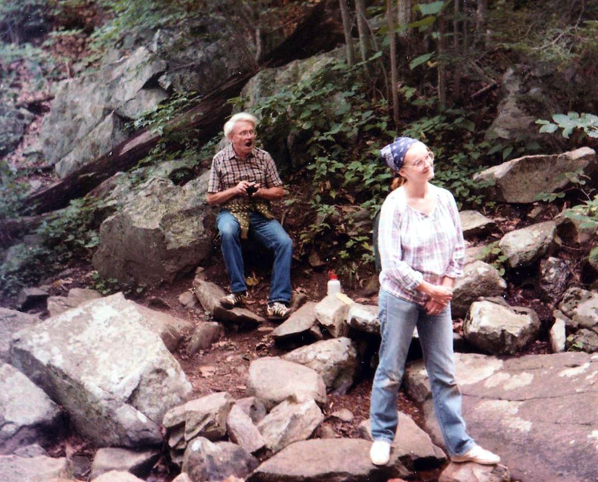 Roanoke, Virginia family gathering, 8/1984