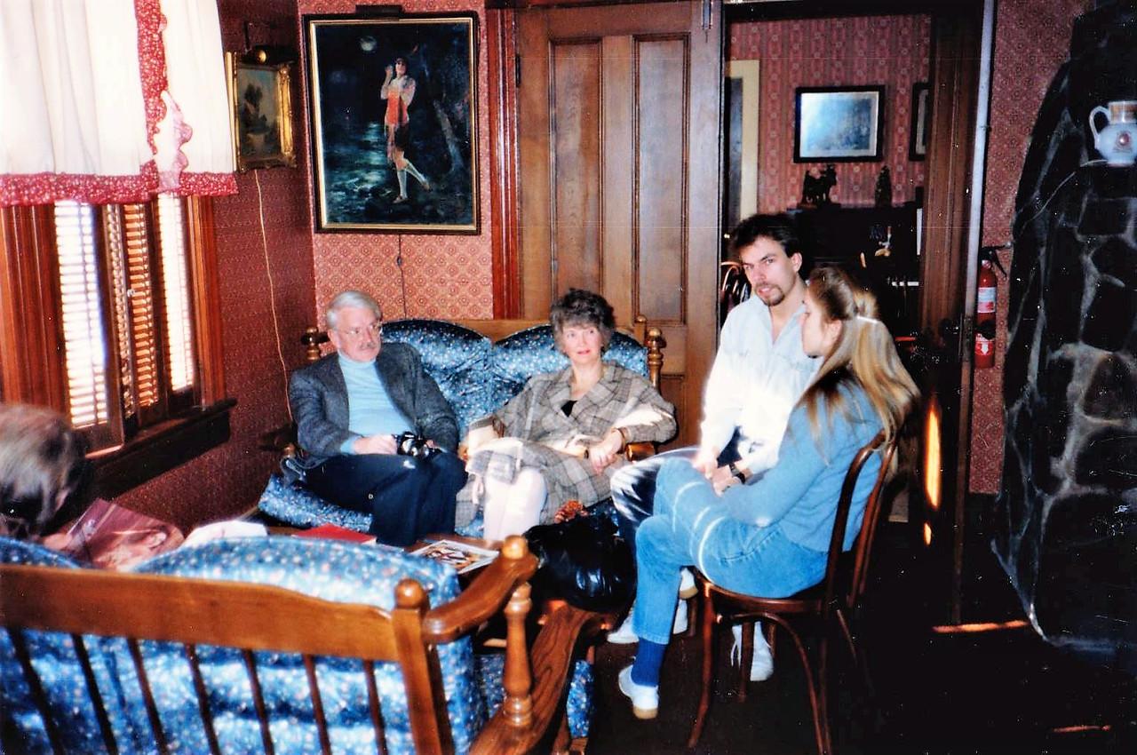 Red Coats Return Inn, Elka Park, NY. 12/31/1986.
