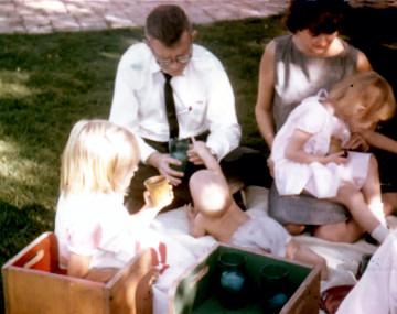 Edmonton, Alberta, Canada house.  Summer 1963.