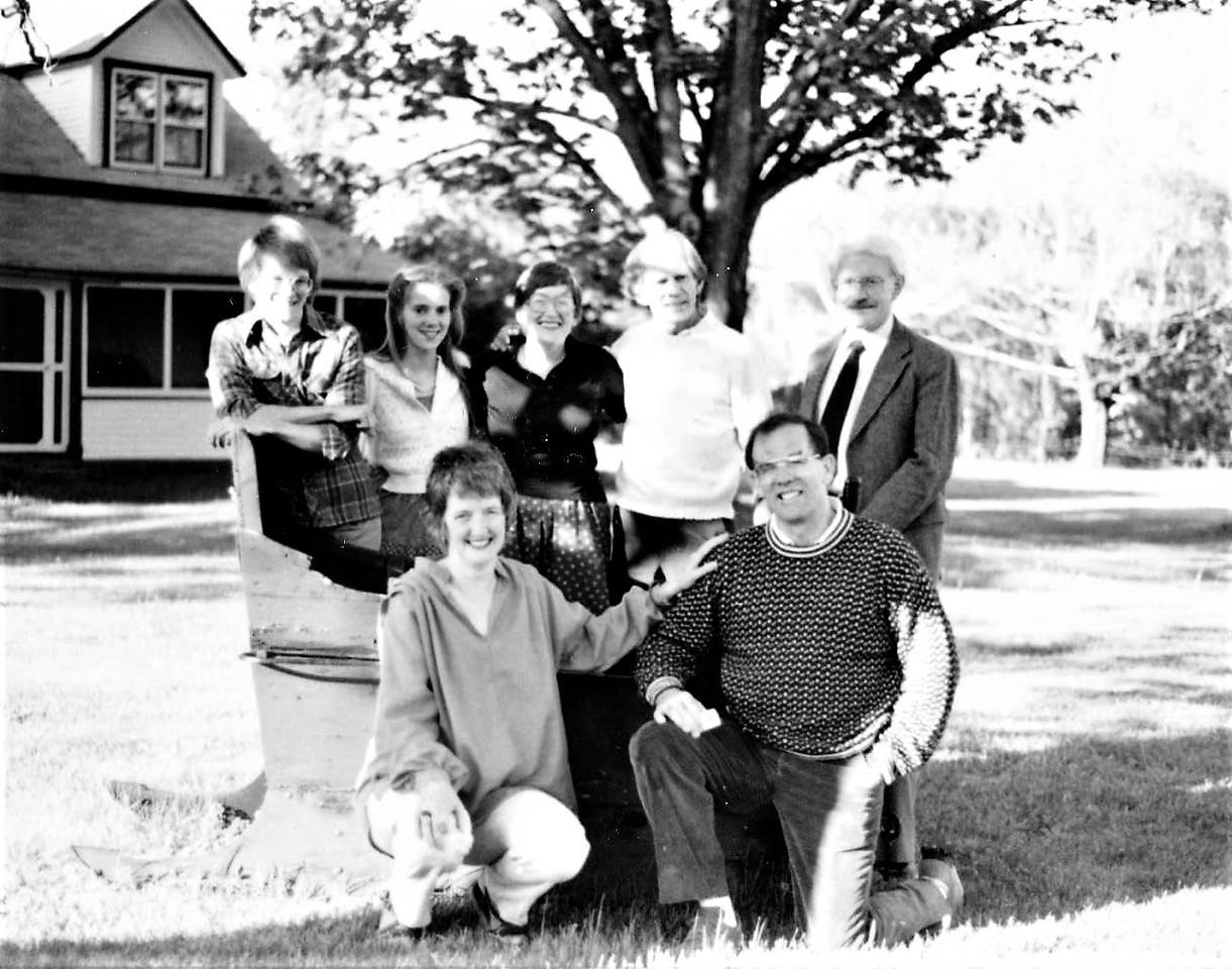 Bark Eater Lodge, Keene Valley, NY (Adirondacks).  May 1984