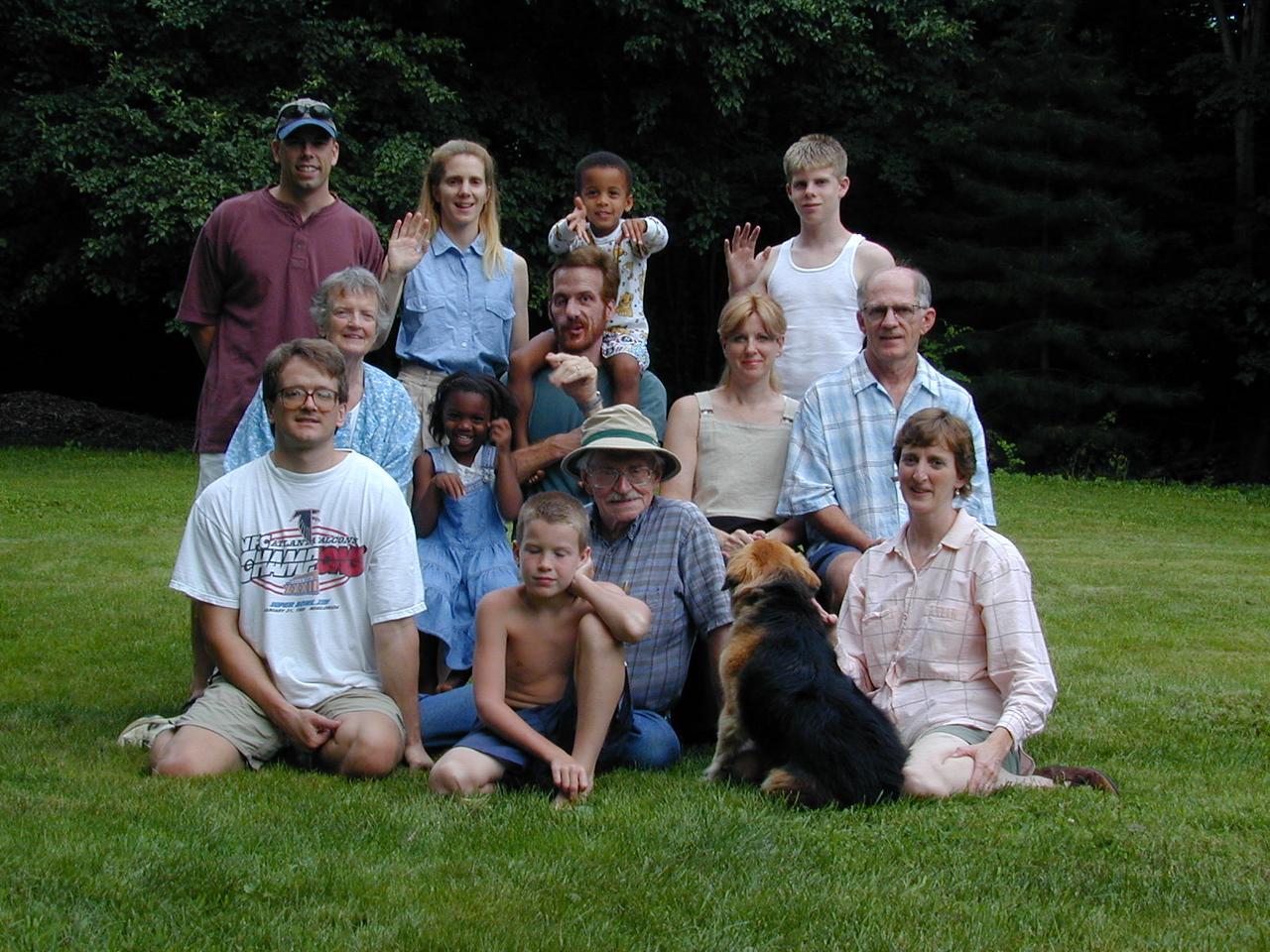 Foote's Greenbush, NY house. 8/5/2000