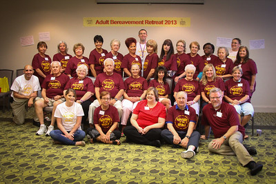 Adult Bereavemant Camp, Gulfside Hospice 10 12 2013