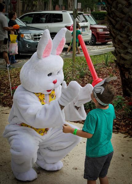 Easter Egg Hunt, Gulfside Hospice 3 26 2016