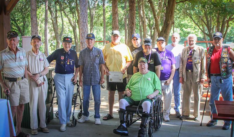 Gulfside Hospice Veteran Pinnings, Harley Davidson NPR FL 5 17 2014