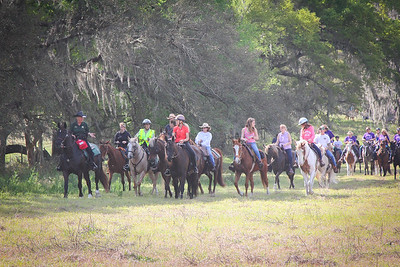 Ride for Hospice, Pasco Sheriff's Posse, 1 6 2014