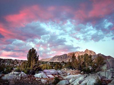 Mt. Humphreys Sunset, John Muir Wilderness