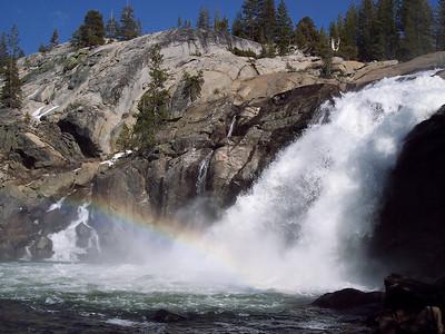 White Cascade - Glen Aulin, Yosemite