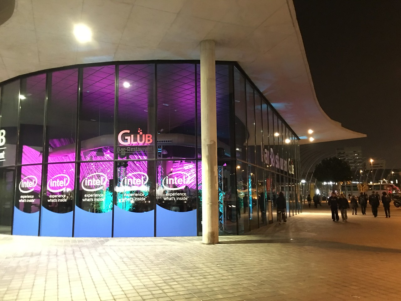 A venue of 180m2 with branding opportunity