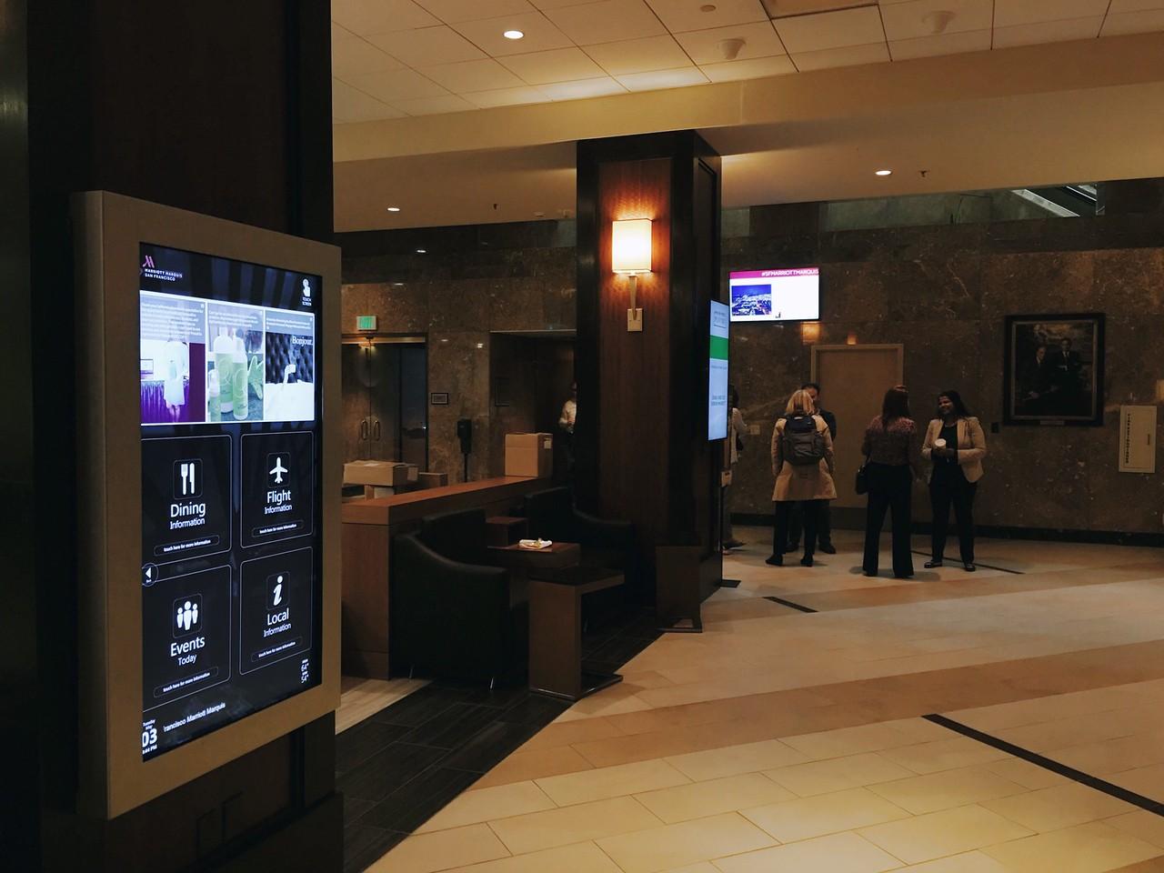 Marriott Hotel Displays