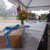 A time capsule discovered in Burbank Hospital during demolition sits awaiting its opening during a ceremony at the hospital. SENTINEL & ENTERPRISE / Jim Marabello