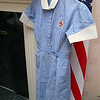 The Highlands in Fitchburg hosted a luncheon for Burbank School of Nursing alumni to celebrate the school's 100th anniversary. The Burbank Hospital School of Practical Nursing opened in 1914 and closed in 1982 and is now the The Highlands a life care center. On display at the event was a uniform used at the school in the 1950's and 60's. SENTINEL & ENTERPRISE/JOHN LOVE