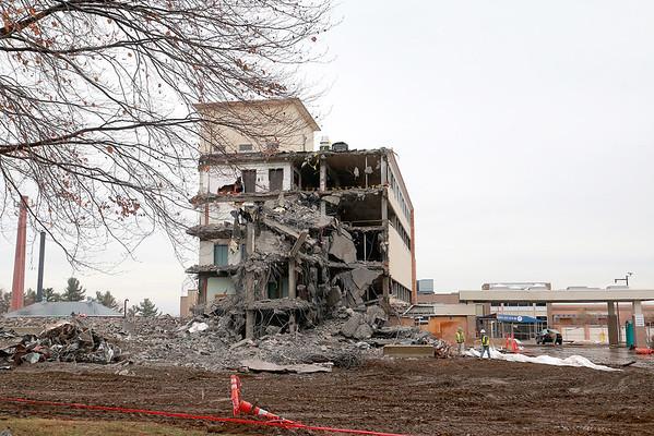 Burbank Hospital torn down
