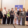 The Discharge Delay Team receives an award from CEO and President Deborah Weymouth during the HealthAlliance Hospital Champions of Excellence Awards ceremony at the DoubleTree by Hilton Hotel on Wednesday. SENTINEL & ENTERPRISE / Ashley Green