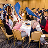 HealthAlliance Hospital emplyees cheer on their coworkers during the HealthAlliance Hospital Champions of Excellence Awards ceremony at the DoubleTree by Hilton Hotel on Wednesday. SENTINEL & ENTERPRISE / Ashley Green