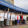 Oncology nurse's at Simond-Sinon Cancer Center are warried about looming cuts to the center, as well as HealthAlliance Hospital Burbank Campus' urgent care facility. From left is RN's, OCN's Susan Sands, Kelly Gosselin, Kerry Beaulac, Laura Herter, Barbara Hietalla, Laura Melanson, Janet Champa, Department Assistant Julie Bergeron Registration Representative Sharron Lovell, Elaine Ambrose MSN And Heather Mazzaferro ambulatory care Technician. SENTINEL & ENTERPRISE/JOHN LOVE