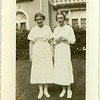 Nurses in Front of OldLynchburg General Hospital 1936 (06648)