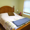 One of the bedrooms at Spring Hill Recovery Center in Ashby on Thursday afternoon. SENTINEL & ENTERPRISE/JOHN LOVE