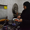 Fatma Abdel Hady at her kitchen cooking Syrian food to support her family. - 30 January 2017 - Cleopatra area - Alexandria, Egypt
